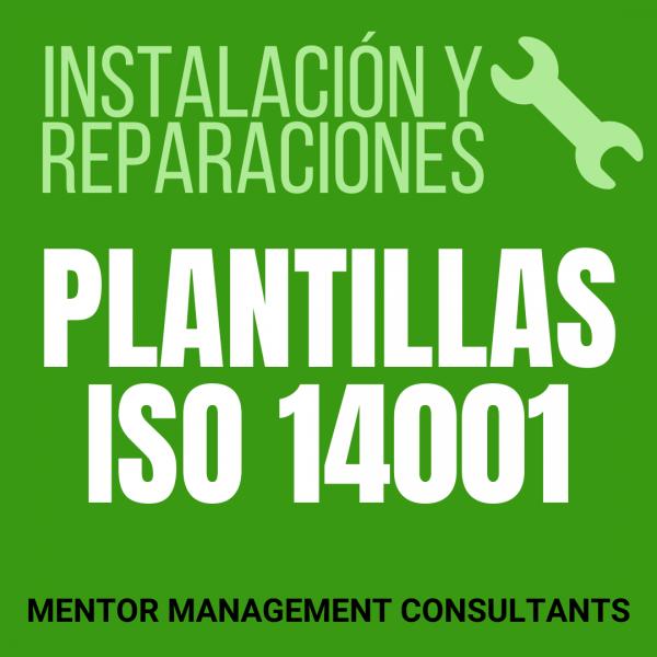 Instalación y reparaciones - Plantillas ISO 14001 - Mentor Management Consultants
