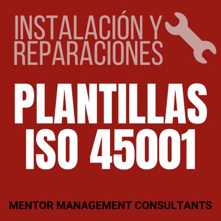 Instalación y reparaciones - Plantillas ISO 45001 - Mentor Management Consultants
