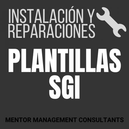 Instalación y reparaciones - Plantillas SGI - Mentor Management Consultants