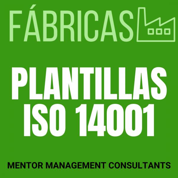 Fábricas - Plantillas ISO 14001 - Mentor Management Consultants