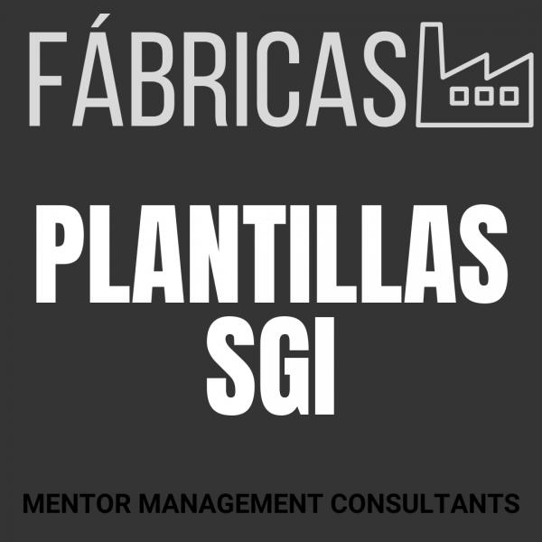 Fábricas - Plantillas SGI - Mentor Management Consultants