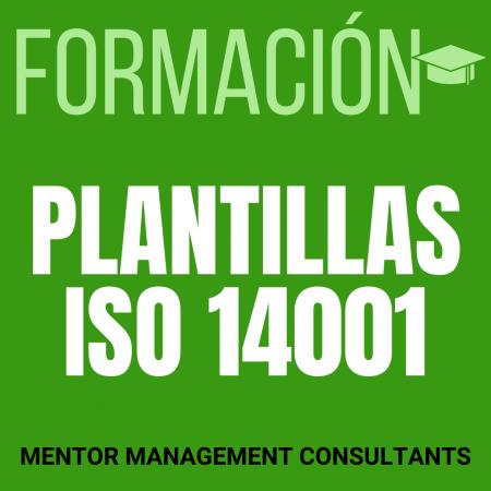 Formación - Plantillas ISO 14001 - Mentor Management Consultants