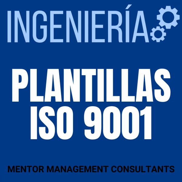 Ingeniería - Plantillas ISO 9001 - Mentor Management Consultants